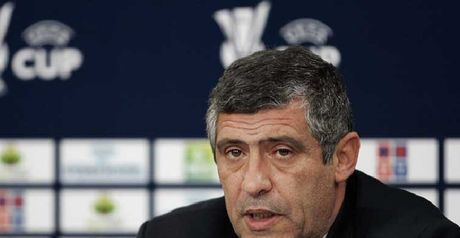 Santos: New Greek boss