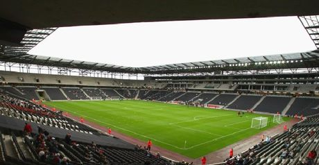 Stadium:MK: MacKenzie on his way
