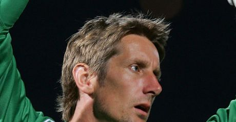 Van der Sar: Delighted with saves