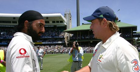Spin twins: Monty Panesar and Shane Warne