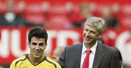 Wenger and Euro 2008 winner Fabregas