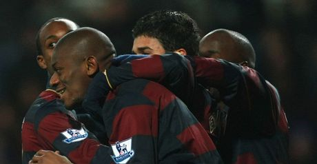 Diaby: Mobbed by team-mates