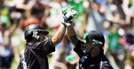 Whitewash: Brendon McCullum and Jamie How