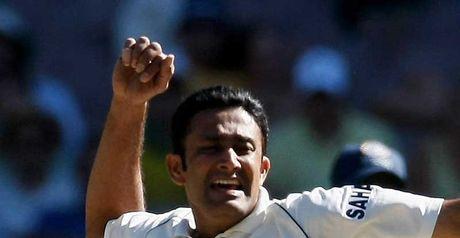 Kumble: five-wicket haul