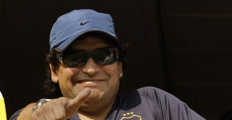 Maradona: In the frame