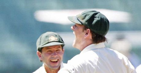 Excellent cricket: Ponting and Adam Gilchrist