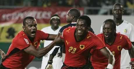 Manucho: Celebrates second goal