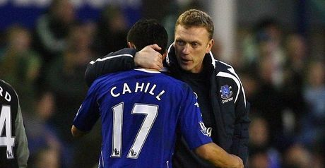 Cahill: Consoled by Moyes