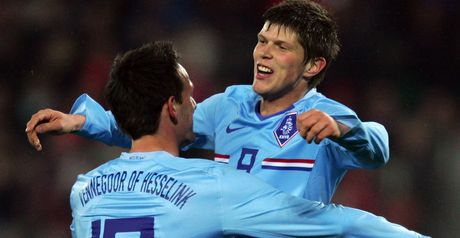 Huntelaar: Holland brace