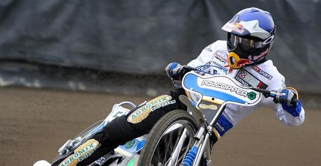 Jarek Hampel: Ruled out with broken leg (Pic credit Fotospeedway.pl)