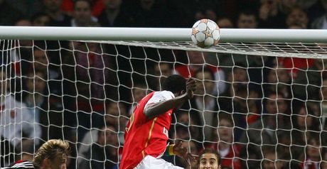 Adebayor opens the scoring