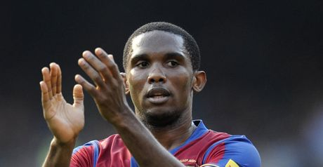 Eto'o: Milan looking to re-build