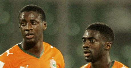Yaya Toure: Seeking advice from Kolo
