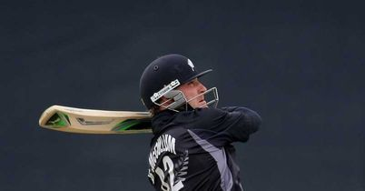 McCullum: Hit 11 fours and 10 sixes in his 166