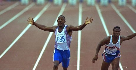 Linford Christie: turns 54 on Wednesday