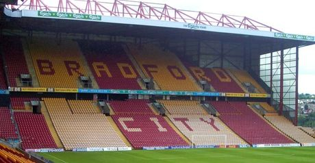 Valley Parade: Winger has high hopes
