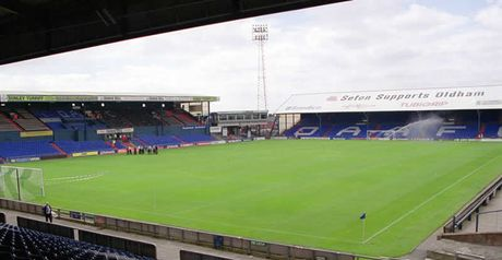 Boundary Park: Set to host Liverpool