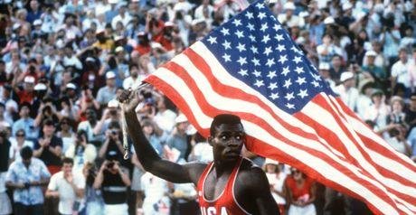 Carl Lewis: Became an American hero.