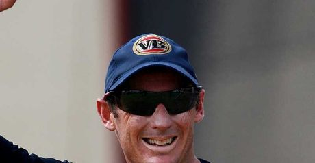 Hussey: Backs against the wall