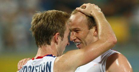 Middleton celebrates the opening goal