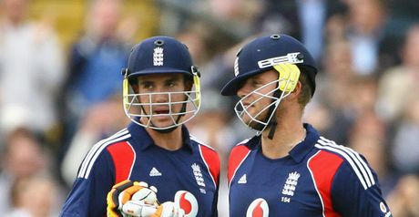 Pietersen and Flintoff: Celebrating century stand