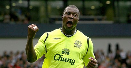 Yakubu: Netted 100th