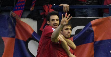 Kike: Hit the early winner for Osasuna