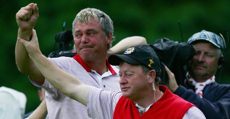 Darren Clarke is overcome by emotion as Europe triumph