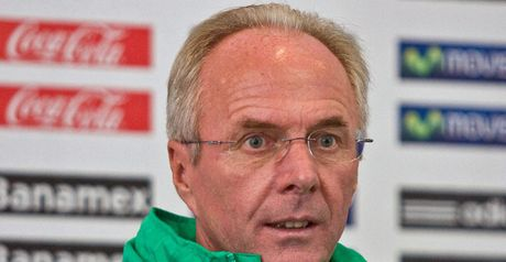 Sven-Goran Eriksson: The Swede has expressed disappointment for David Beckham