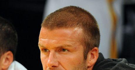 Beckham: Joining AC Milan