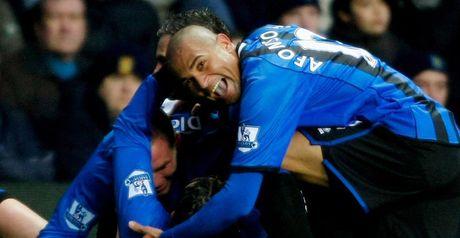 Celebrations: Boro get rare away win