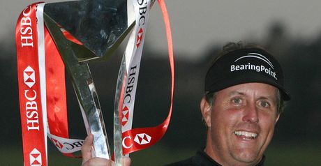 Mickelson: defending champion