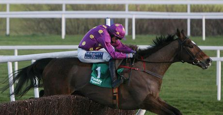 Big Zeb is clear at Leopardstown.