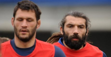 Nallet (L) and Chabal: Fitness boosts