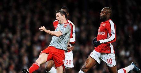 Keane fires home Liverpool's equaliser