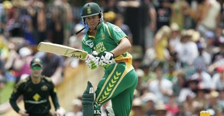 De Villiers: treats Twenty20 as a serious business