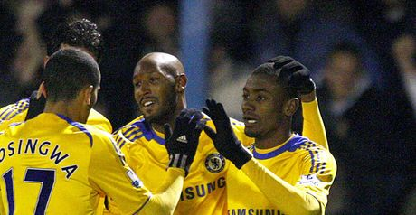 Kalou and Anelka on target for Blues