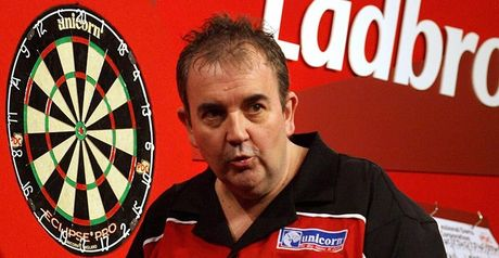 Defending champion Phil Taylor