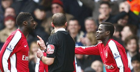 Eboue: Sent for an early bath