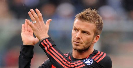 Beckham: Timeshare deal