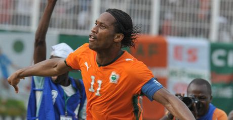 Drogba: Suffering with chest injury