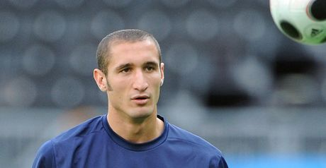 Chiellini: Headed only goal