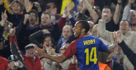 Henry: Celebrates opener