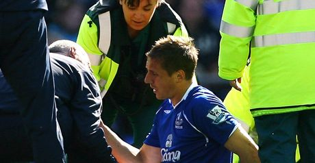 Jagielka: Injury blow