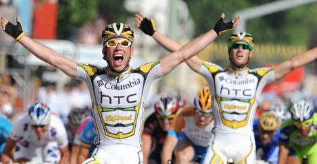 Cavendish: First Brit to win on Champs Elysees