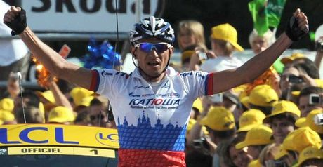 Ivanov: Second stage win in the Tour de France