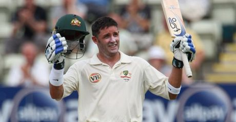 Hussey: Fluent hundred