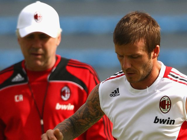 Ancelotti managed Beckham at AC Milan and believes Beckham can be successful