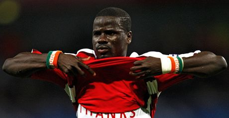 Eboue: Hoping to land a trophy