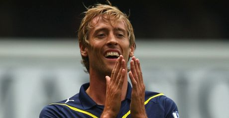 Crouch: First goal
